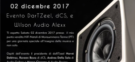 Evento DarTZeel – DCS & Wilson Audio Alexx – 02 dicembre 2017