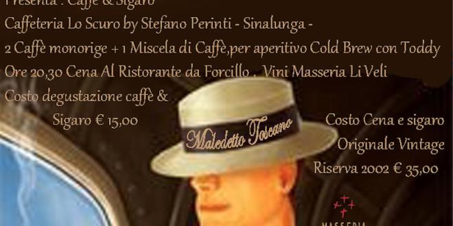 Caffè e Sigaro – Sabato 17 Marzo 2018
