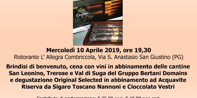Club Sansepolcro e Maledetto Toscano – Degustazione Toscano originale Selected